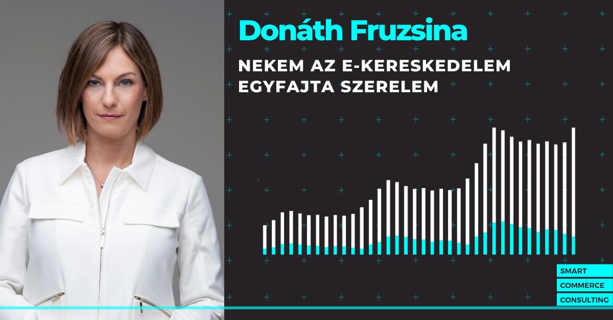 """""""Nekem az e-kereskedelem egyfajta szerelem"""" – interjú Donáth Fruzsinával, a SCC ügyvezetőjével"""